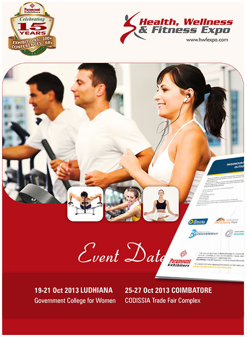 Health fitness Brochure design