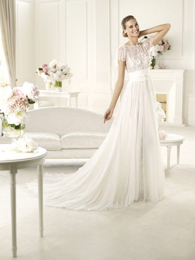 Elie by elie saab 2013 bridal collection my dress of the for Elie saab 2012 wedding dresses