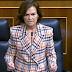 """Carmen Calvo descarta un referéndum sobre la monarquía: """"la Jefatura del Estado no está en cuestión"""""""