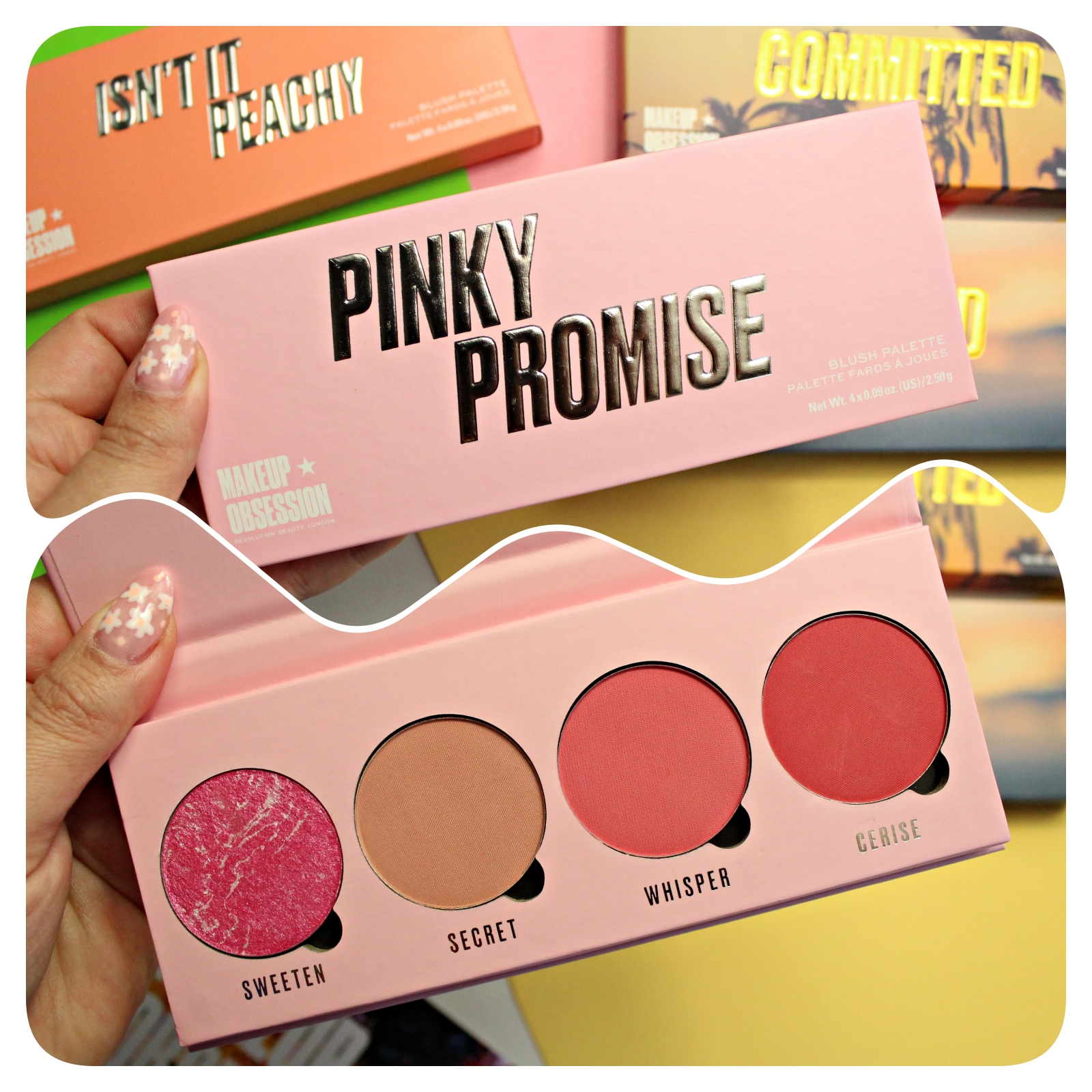 Makeup Obsession Pinky Promise Palette