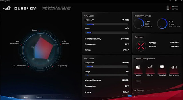 Asus ROG Strix Scar II (GL504GV) features