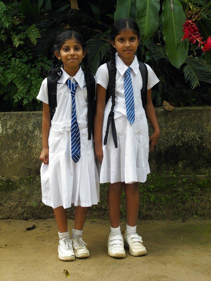 Can Srilankan girl sex uniform pity