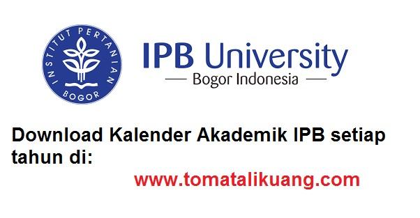 kalender akademik ipb tahun akademik 2020/2021 semester ganjil dan semester genap; tomatalikuang.com