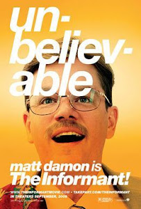 The Informant! Poster