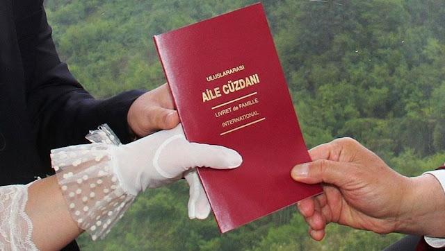 Evlilik cüzdanı yenileme nasıl yapılır? evlilik cüzdanı kayıp zayi yenileme işlemi, evlilik cüzdanı yenilemek ücreti, istenen belgeler, kaybetme cezası ne kadar?