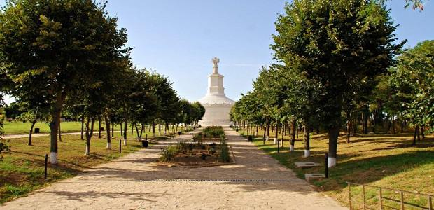 Fote, poze cu Monumentul Tropaeum Traiani din Adamclisi, judetul Constanta
