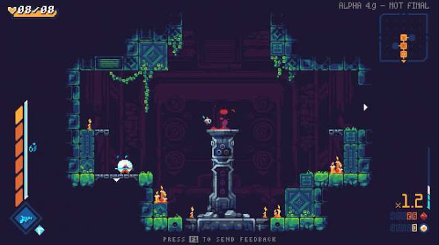 ScourgeBringer is a fast high-speed platform game with a side view in which you have to play the role of a fighter of one of the most powerful clans, and even on the eve of the apocalypse itself.