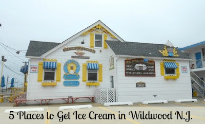 Seashell Ice Cream Parlor in Wildwood New Jersey