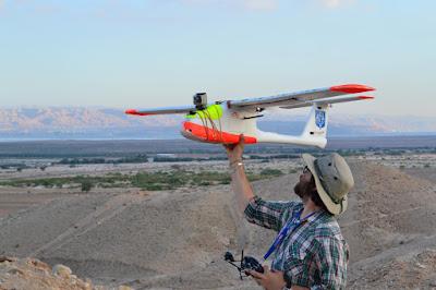 Using drones to monitor looting in Jordan