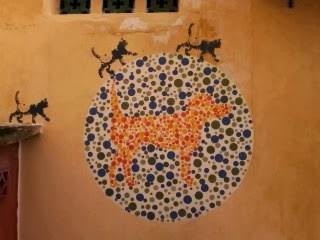 "<a href=""url gambar""><img alt=""street art hunting penang malaysia mural color blind"" src=""urlgambar"" title=""street art penang malaysia mural color blind"" />"