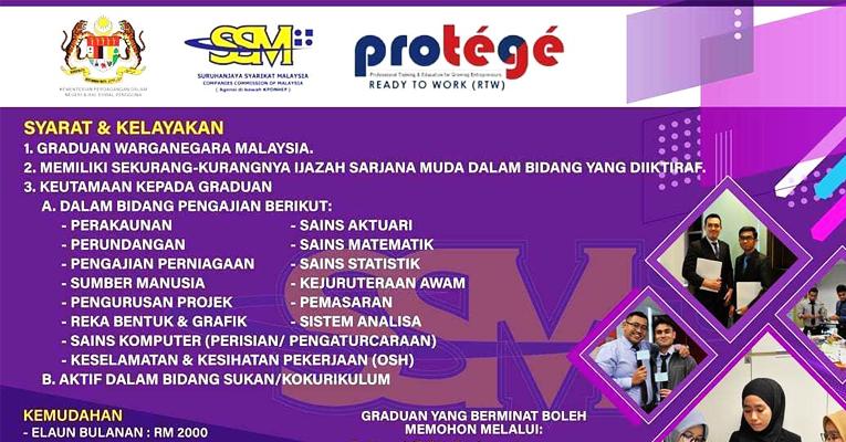 Jawatan Kosong di Suruhanjaya Syarikat Malaysia SSM