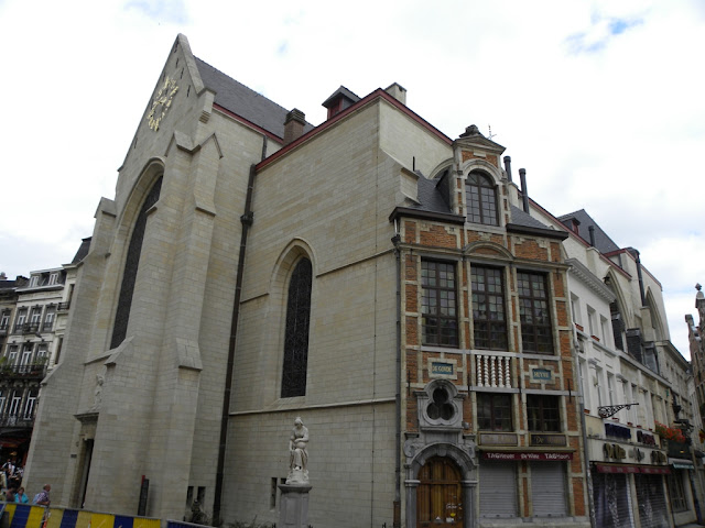 Nicolas church Brussels