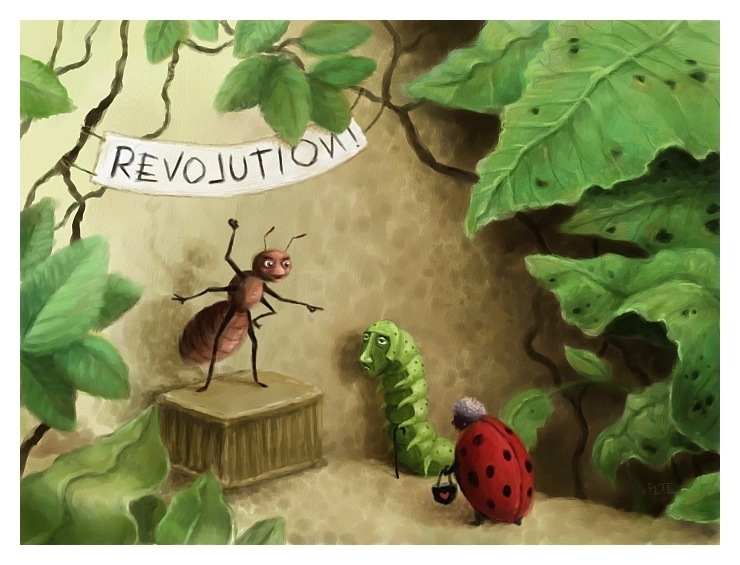 07-The-Very-Small-Revolution-Pete-Revonkorpi-Paintings-of-Surreal-Seeds-that-grow-in-our-Imagination-www-designstack-co