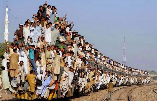 Ludzie na pociągu