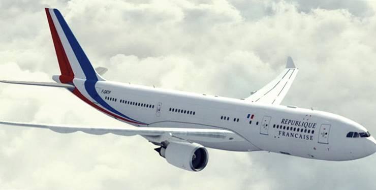 Airbus A330-200-Pesawat Kepresidenan Prancis/france