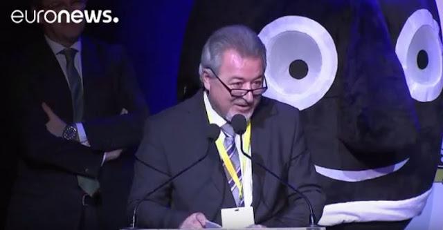 Βίντεο από την βράβευση της Ηγουμενίτσας στις Βρυξέλλες