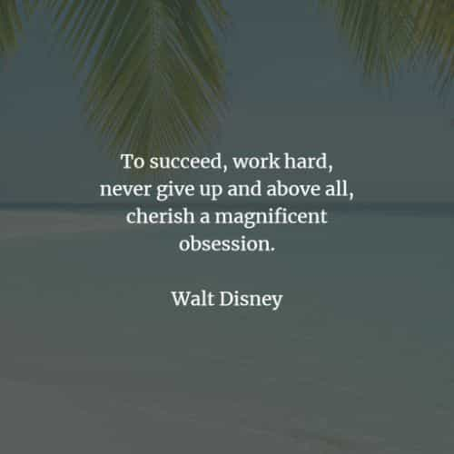 Hard work quotes and sayings to reach your goals