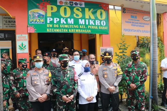 PPKM Mikro Surabaya
