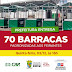 BONFIM: PREFEITURA IRÁ ENTREGAR 70 BARRACAS PADRONIZADAS NESTA QUINTA-FEIRA 03