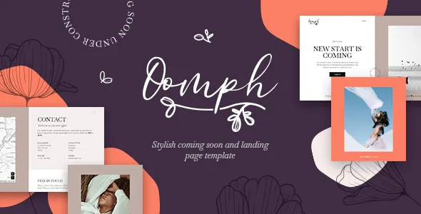 Best Stylish Coming Soon and Landing Page Template