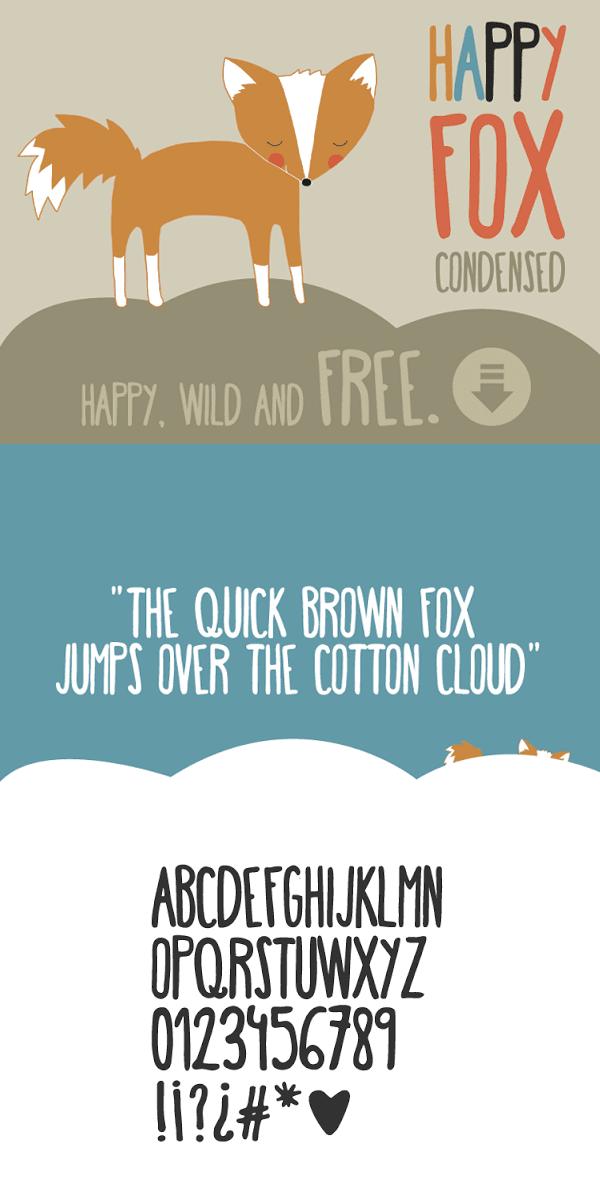 Download Font Handletter Tulisan Tangan Terbaik - Happy fox Font