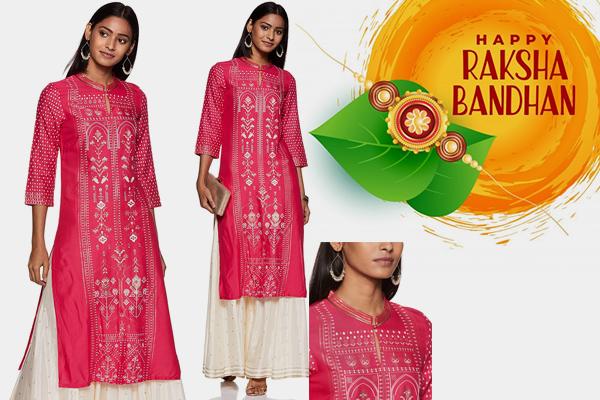 Raksha Bandhan Special Kurta for women 2020