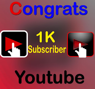 Youtube channel 1k subscriber complete