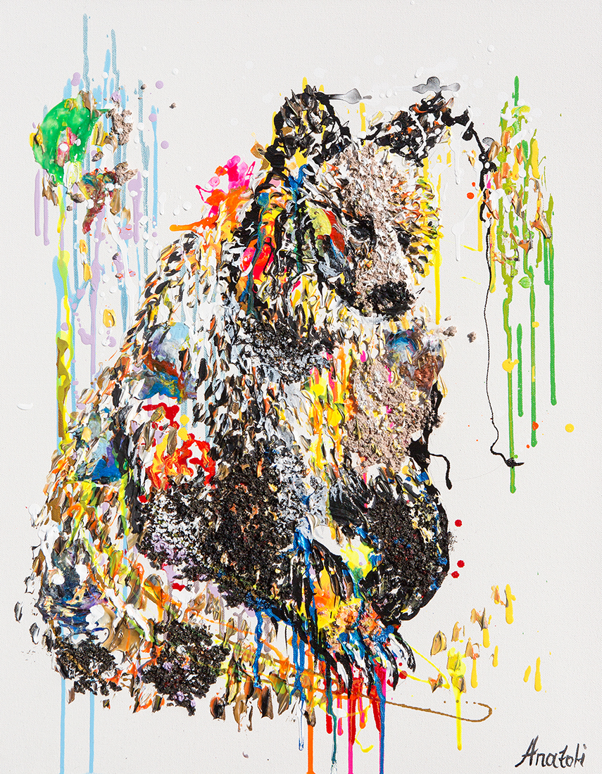 bear painting, polar bear dot , bear small painting, polar bear oil, bear mixed media, Grizzly Bear painting, bear 3d painting, bear dot painting, abstract bear art,bear textured, bear wall art, bear pop art, acrylic bear,