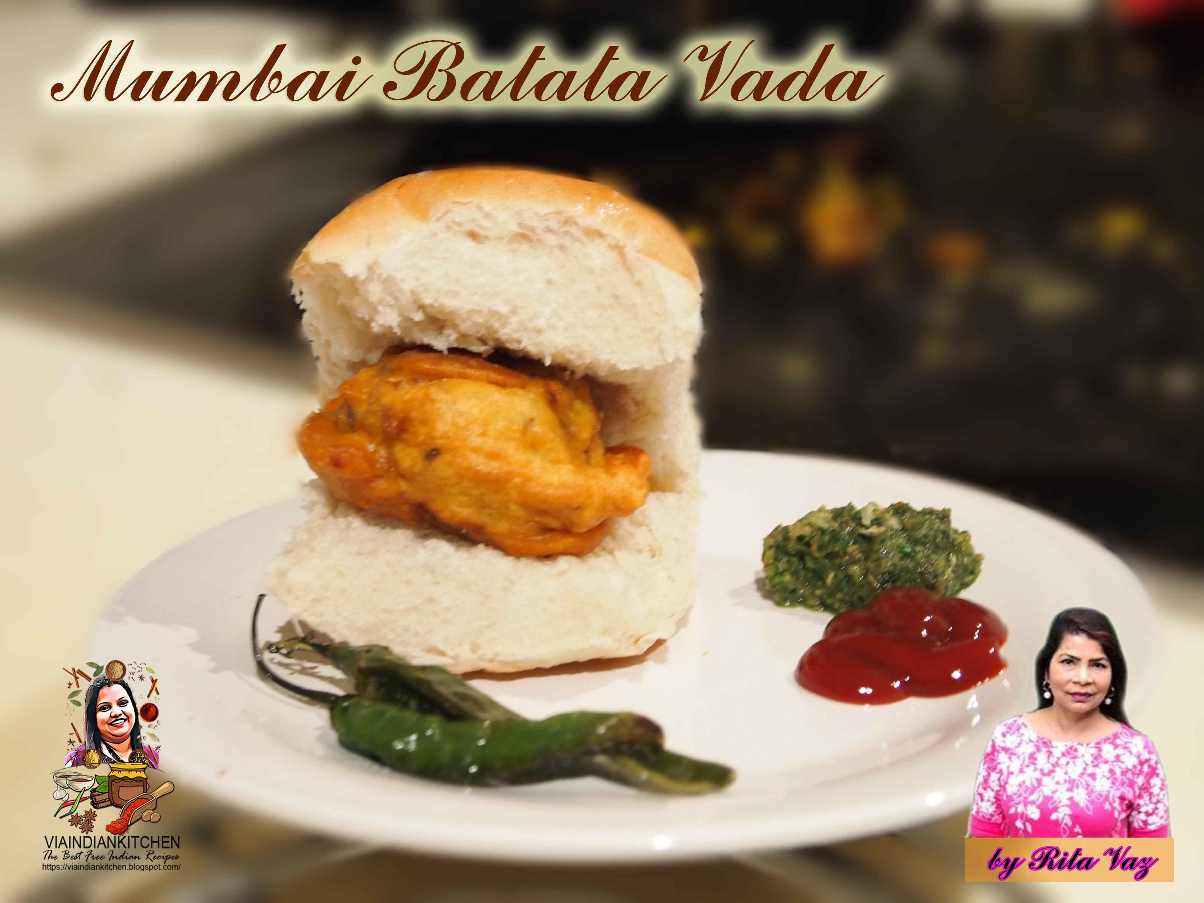 Mumbai Batata Vada / मुंबई बटाटा वड़ा