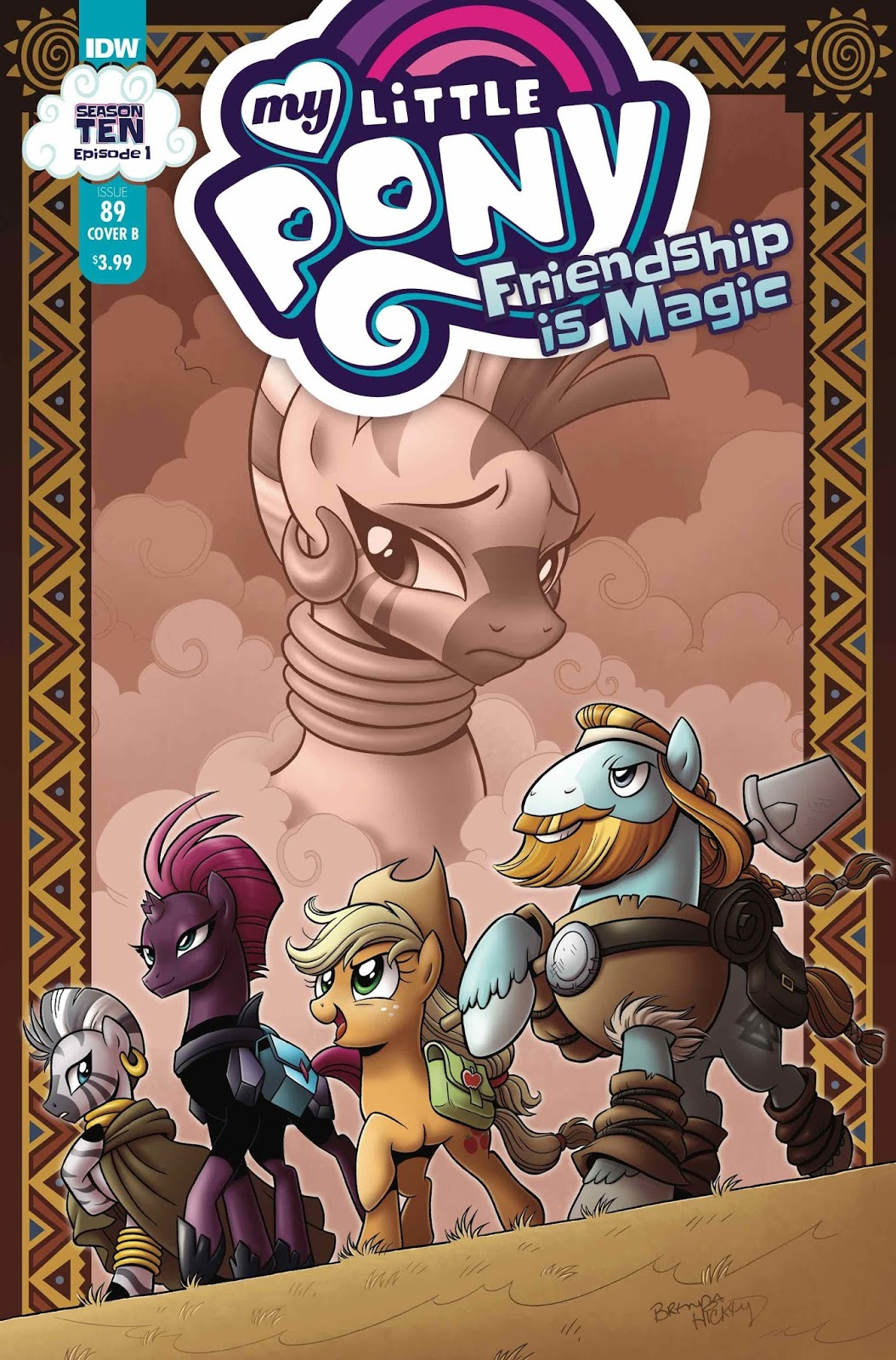 Equestria Daily Mlp Stuff Season 10 Comic My Little Pony Friendship Is Magic 89 Revealed Writer Synopsis And Artist