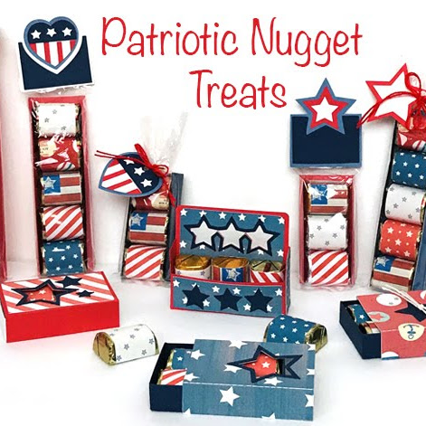New Patriotic Nugget Treat Files