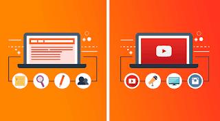 blogging vs YouTube, gyansblogs