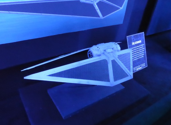 Rogue One TIE Striker model