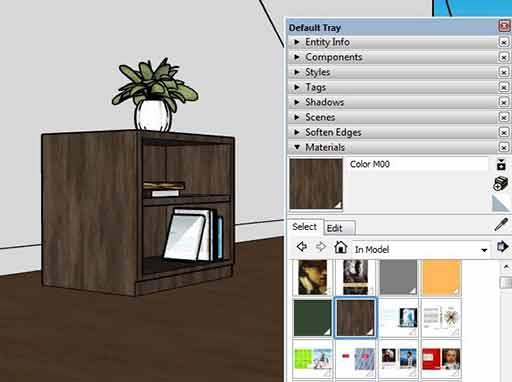 Cara Setting Material HPL Vray Sketchup