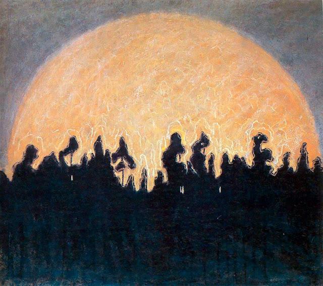 Чюрлёнис Микалоюс Константинас - Солнце. 1907