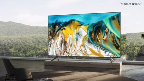 Xiaomi announces its first 82-inch mini-LED TV