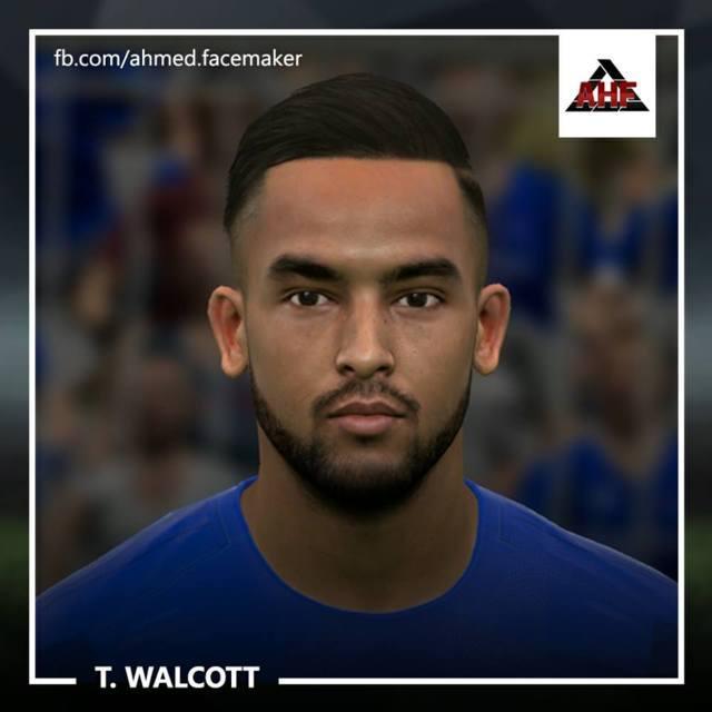Theo Walcott Face PES 2017