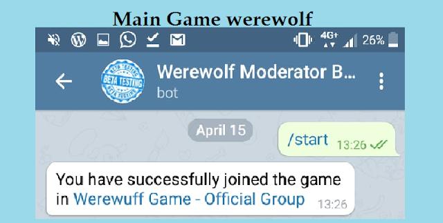 main game werewolf telegram