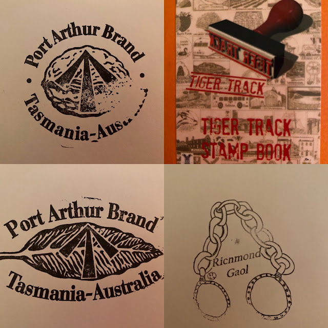 Tiger Track Stamp Tasmania