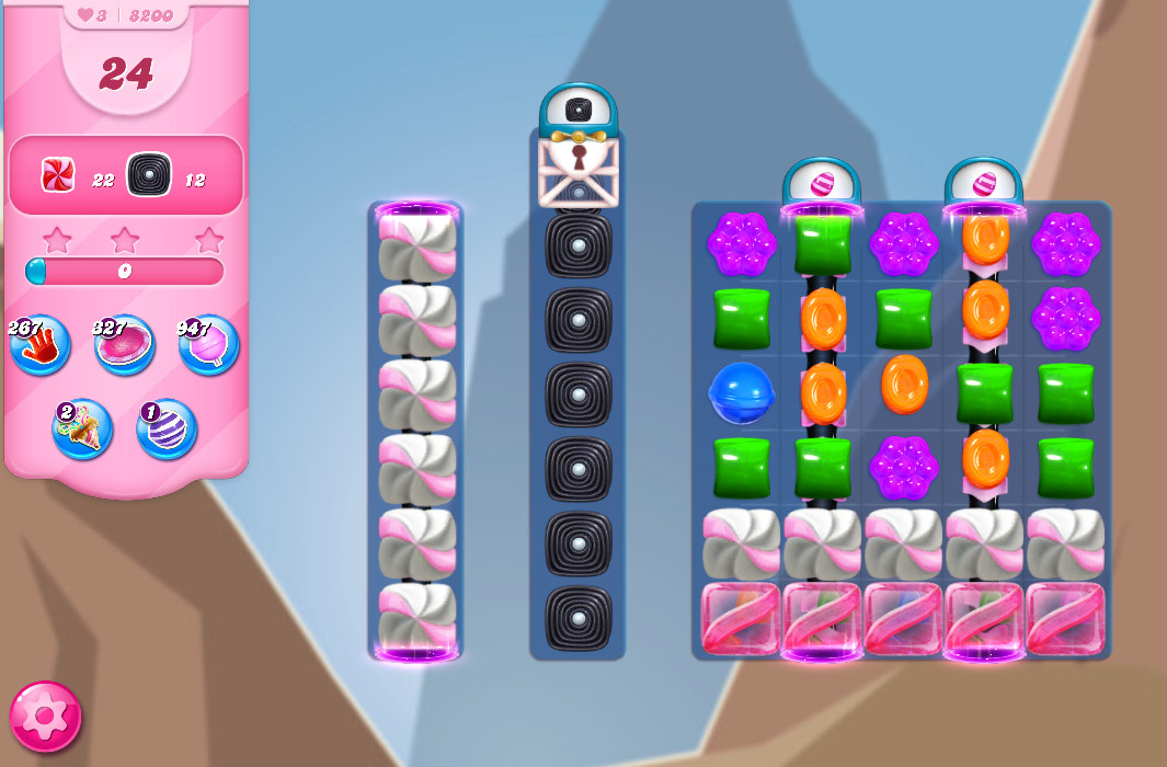 Candy Crush Saga level 8200