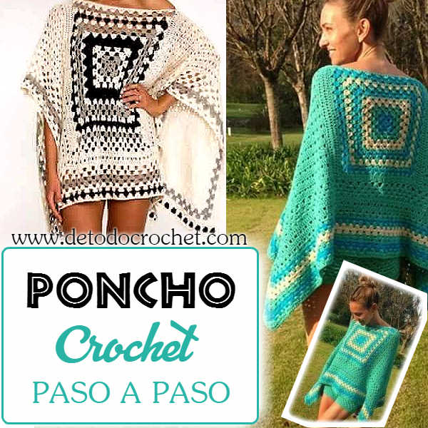 poncho-crochet-punto-granny