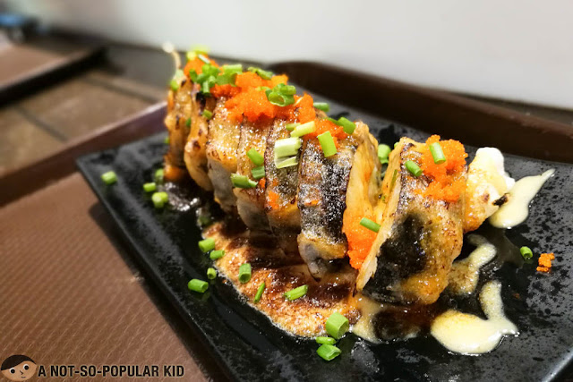 Special Tempura Roll of Mai Mai Fast Japanese in Makati