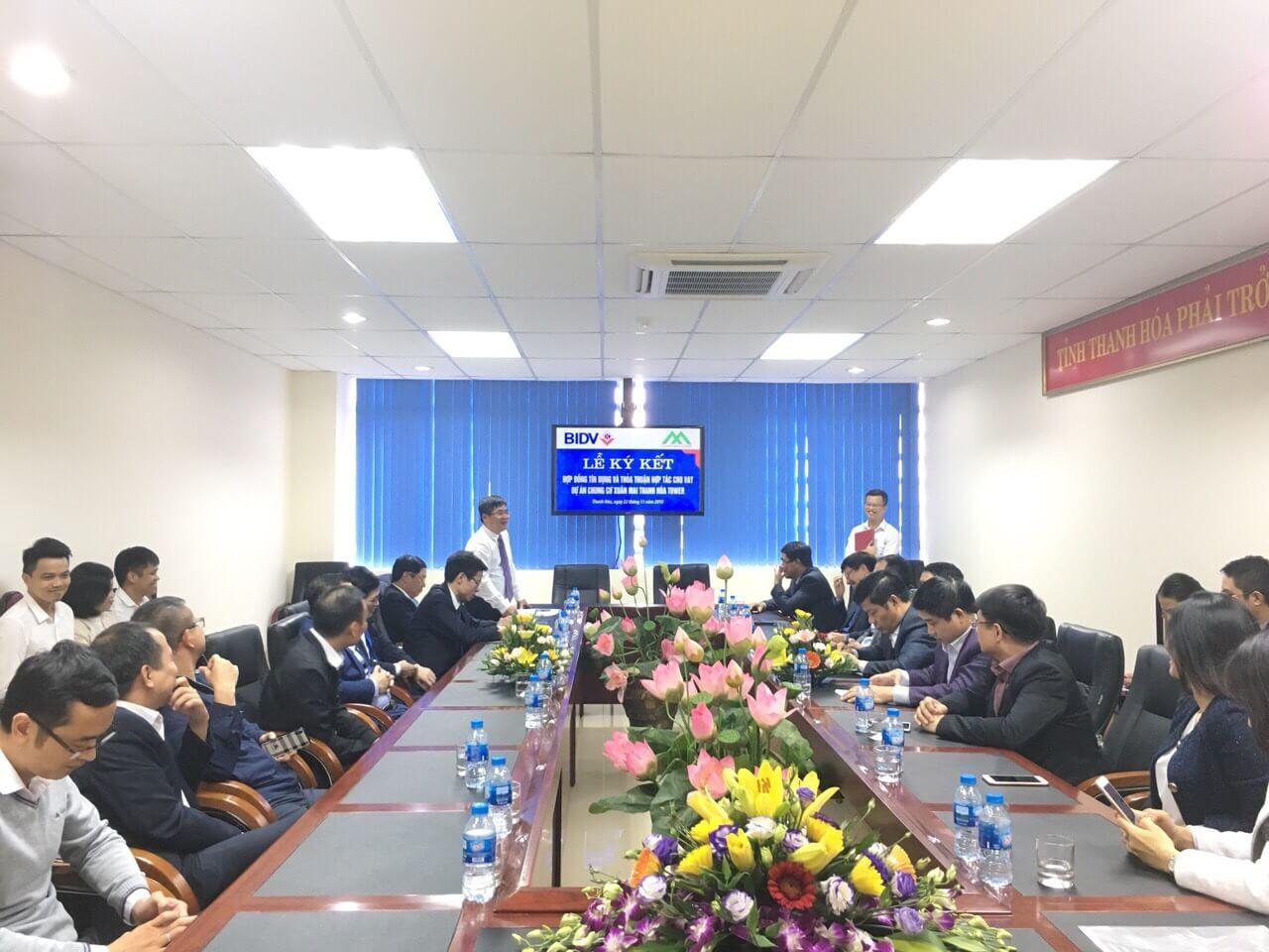 BIDV tài trợ vốn vay của dự án Xuân Mai Tower Thanh Hoá