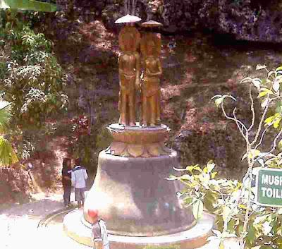 Sejarah Arca Emas Goa Seplawan
