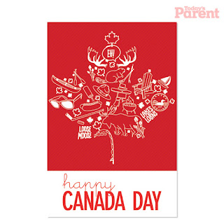 Canada Day Invitations