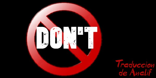 Don't. Serie