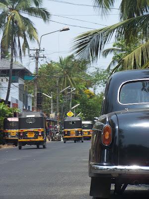 Rue à Thiruvanathapuram