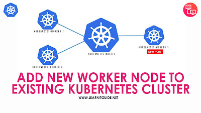 how to add new worker node to existing kubernetes cluster