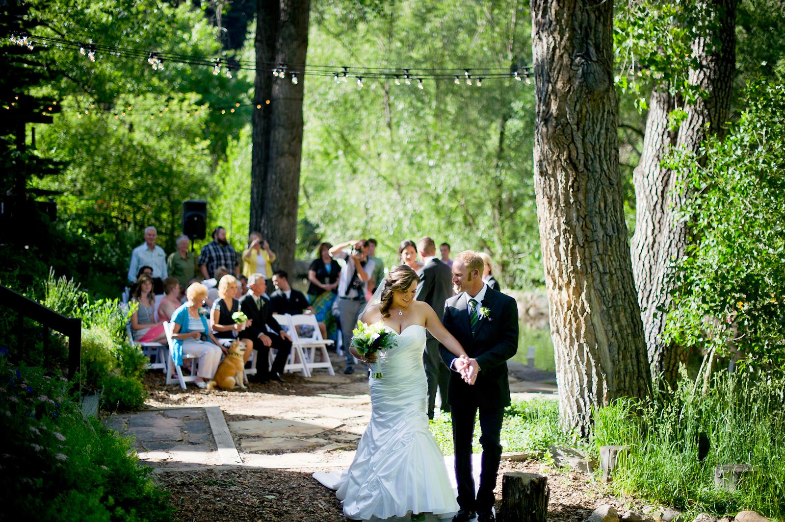 Boulder Wedding :: Heidi + Wayne are married along the ...