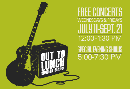 Downtown Seattle's Out to Lunch Concert Series (Seattle Fun